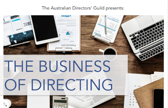 The ADG Presents: The Business of Directing Workshop in Melbourne